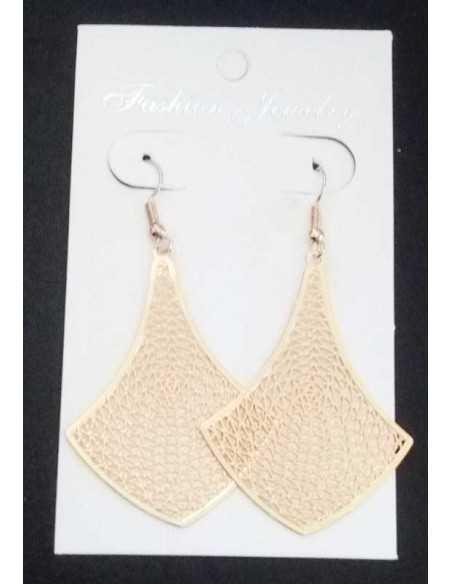 Boucles d'oreilles pendantes design graphiques et fantaisie