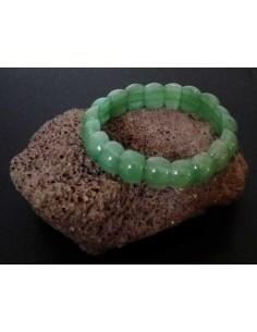Bracelet aventurine pierres boules bombées