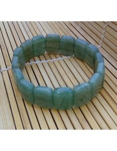 Bracelet aventurine rectangles pierre naturelle