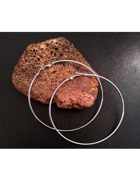 Créoles fantaisie tailles 4 cm à 10 cm