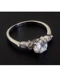 Lot de 12 bagues anneaux et zirconiums tailles 16 à 20