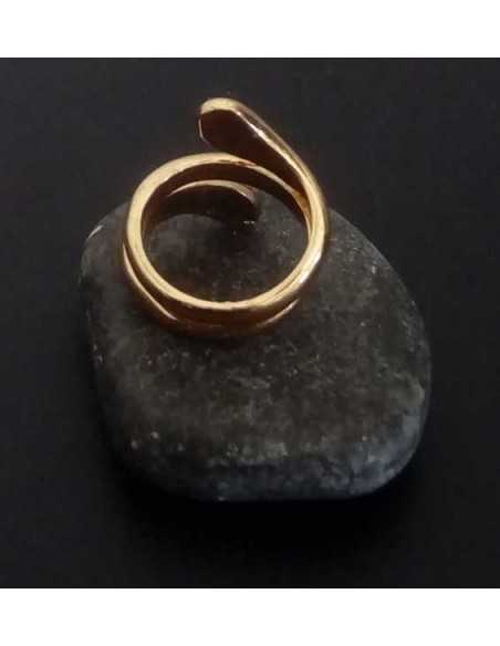 Lot de 12 bagues anneau serpent taille de 16 à 20