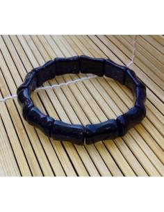 Bracelet pierre du soleil naturelle noire