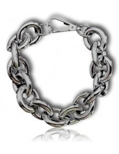 Bracelet grosse maille articulée tendance XXL