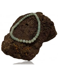 Bracelet amazonite pierres boules 4 mm