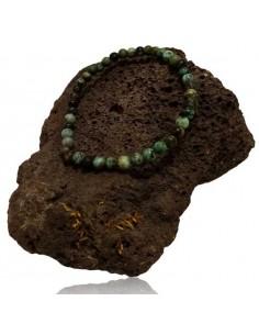 Bracelet turquoise africaine pierres boules 4 mm