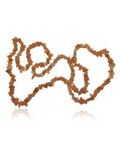 Fil de pierres naturelle de soleil chips 80 cm