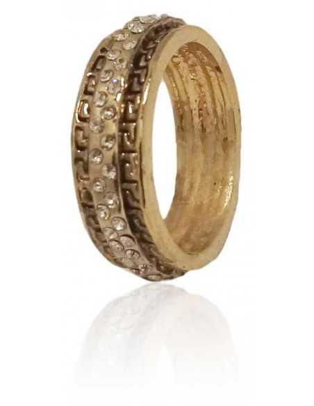 12 bagues anneaux sertis avec motifs, toutes tailles