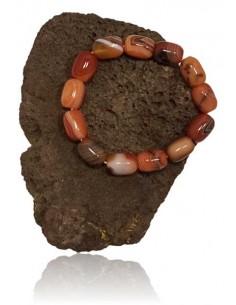 Bracelet pierre agate cubique divers coloris
