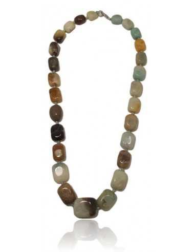 Collier pierre naturelle amazonite