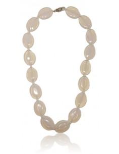 Collier opale pierres ovales