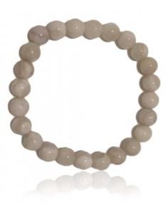 Bracelet pierre de lune boules 8 mm