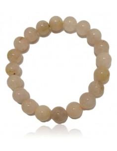 Bracelet cheveux de Venus pierres boules 10 mm