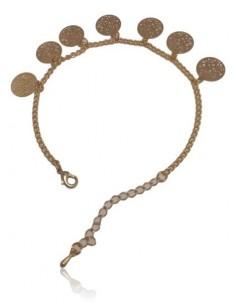 Bracelet fantaisie arbre de vie à pampilles