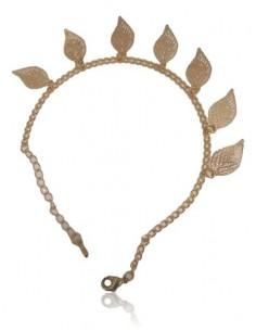 Bracelet fantaisie feuilles tendance filigrane