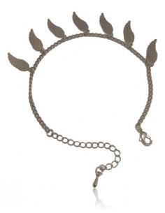 Bracelet fantaisie pampilles ailes d'anges filigranes