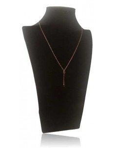 Collier acier inoxydable pendentif clefs et chaines pendantes