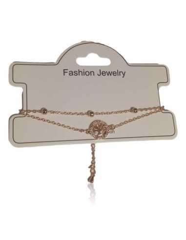 Bracelet fantaisie pendentif arbre de vie