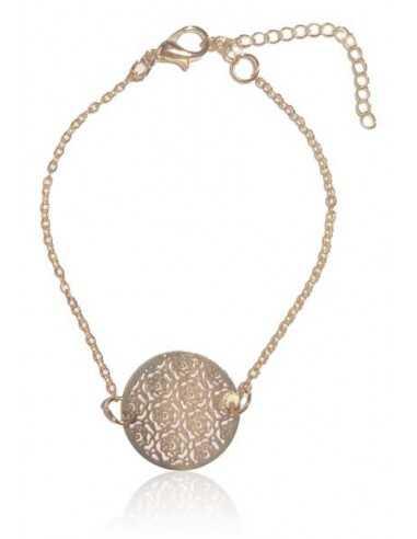 Bracelet fin motif roses