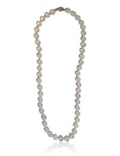 Collier opale pierres boules 7 mm