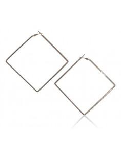 Créoles géométriques XXL carré
