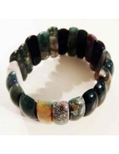 Bracelet pierres naturelles mélangées