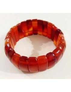 Bracelet cornaline large
