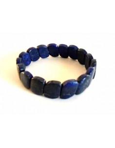 Bracelet lapis-lazuli pierres torsadées