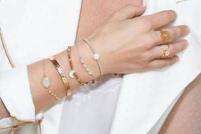 bracelets acier femme