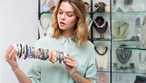 vendre des bracelets en pierre naturelle