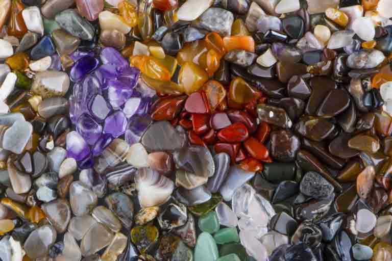 le pouvoir réconfortant des pierres